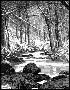 Winter in Sherwood Forest by giadrosich on DeviantArt