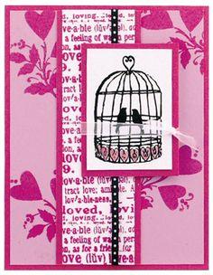 Hampton Art Love Birds Card by Diana Kovacs Easy Projects, Craft Projects, Ac Moore, Hampton Art, Bird Cards, Birdhouses, Project Yourself, Scrapbooking Ideas, Card Templates