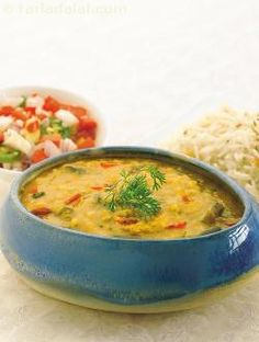 A parsi delicacy modified into a healthy and easy-to-make dal. Dhan means cereals and pulses, and saak means vegetables. These combine here to make a wholesome meal! it is traditionally served with browned rice to make a complete nourishing meal. Dare to add green and red pastes to send your taste buds on an enjoyable, adventurous journey!