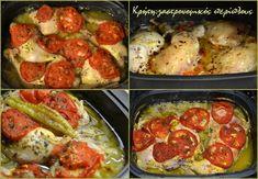 Μπουτάκια κοτόπουλου στη γάστρα, σαν λουκούμι! - cretangastronomy.gr Sausage, Chicken, Meat, Food, Sausages, Essen, Yemek, Buffalo Chicken, Cubs