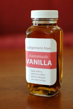 crafterhours: Judgement-Free Homemade Vanilla For All (Bake with it. Add it to coffee. Drink it straight. We won't judge.)