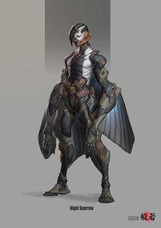 ArtStation - Night Sparrow, Wan YouMing
