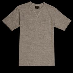 UNIONMADE - National Athletic Goods - V Pocket Tee in Mid Grey