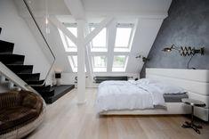 Attic Loft Apartment in Prague