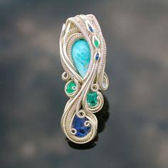 ©Nicolas Cooney #wirewrap #jewelry #wirewrapjewelry