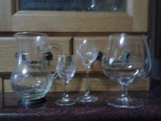Mason Jar Wine Glass, Tableware, Art, Dinnerware, Dishes