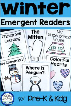 Emergent Readers for Winter