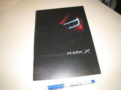 TOYOTA MARK X Japanese Brochure 2014/04 GRX133/130/135 2GR-FSE 4GR-FSE G's
