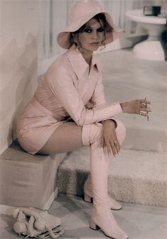 """Brigitte Bardot in 1970 film """"L'Ours et la Poupée"""""""