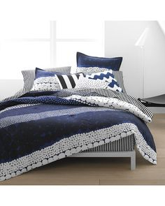 Marimekko Marimekko Jurmo Duvet Cover and Comforter Sets from Bedding Style | BHG.com Shop