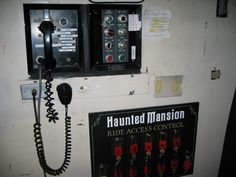 This Is What Disney's Haunted Mansion Looks Like Behind The Scenes (set of pics)