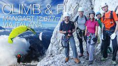 Climb & Fly Mangart (2.677m) Paragliding, Climbing, Mountaineering, Hiking, Rock Climbing