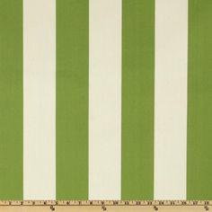 Premier Prints Indoor/Outdoor Vertical Stripe Greenage