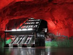 The 10 Coolest Underground Subways In The World: 1. The Stockholm Subway