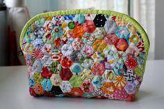 Handmade by FarahLin: Hexagon Shell Pouch