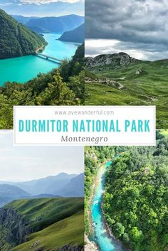 Visiting Durmitor National Park, Montenegro: Europe's Hidden Gem Visiting the Durmitor National Park Montenegro on a perfect road trip with awe-inspiring mountain scenery, stunning rivers and glacial lakes. Read more on Voyage Montenegro, Montenegro Travel, Perfect Road Trip, Reisen In Europa, Parc National, Europe Travel Guide, European Destination, Beautiful Places To Travel, Solo Travel