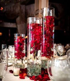 See more about wedding reception centerpieces, wedding centerpieces and red centerpieces. red