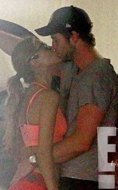OMG! Liam Hemsworth was caught kissing Eiza González just one day after announcing his split from Miley Cyrus.