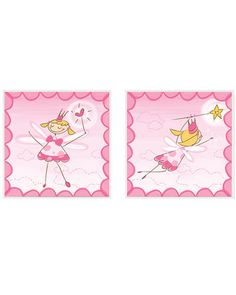 "PTM Images ""Fairy"" Set of 2 Framed Prints"