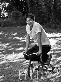 Gong Yoo - Elle Korea October 2015 (Be Mine I) - JT-Photoblog