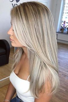 Here we have compiled the stunning blends of blonde balayage hair colors so that. - Here we have compiled the stunning blends of blonde balayage hair colors so that you may fine unique - Beach Blonde Hair, Blonde Hair Shades, Cool Blonde Hair, Brown Blonde Hair, Pearl Blonde, Icy Blonde, Highlights For Blonde Hair, Hair Layers, Full Highlights