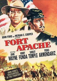 Fort Apache (1948),At Fort Apache, an honorable and veteran war captain finds conflict when his regime is placed under the command of a young, glory hungry lieutenant colonel with no respect for the local Indian tribe. (125 mins.) Director: John Ford. Stars: John Wayne, Henry Fonda, Shirley Temple, Pedro Armendáriz