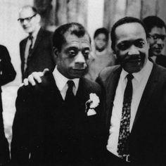 James Baldwin & Dr. Martin Luther King