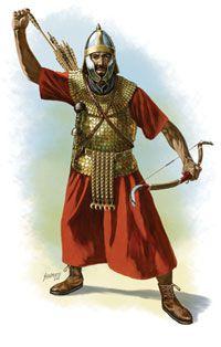 Сирийский лучник из римского вспомогательного отряда