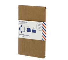Moleskine has these new letter books that you can send to people. they are super cute.