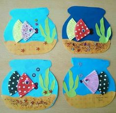 fish craft kids craft