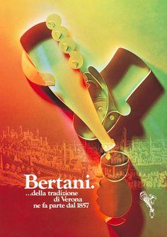#Bertani #Vintage #Wine #Poster Collection no.2. One of the most prestigious cellars in #Valpolicella #Valpantena