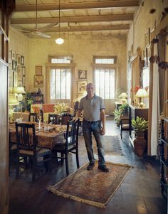 """India has been on my radar for so long and reading about the hidden creative side of Kolkata has brought it back to the top of my bucket list. Eating here would. def. be on my itinerary >>Surajit """"Bomti"""" Iyengar serves authentic Bengali meals in his elegant heritage home. He also offers personalized tours of hidden Kolkata."""