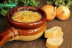 Cibulová polévka od babičky Slow Cooker Recipes, Crockpot Recipes, Soup Recipes, Cooking Tips, Cooking Recipes, Great Recipes, Favorite Recipes, Sandwich Fillings, Puzzles