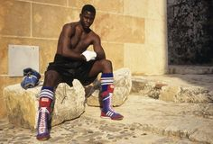 Boxer Ariel Hernandez - 2x Olympic Gold Medalist for Cuba in 1992 and 1996