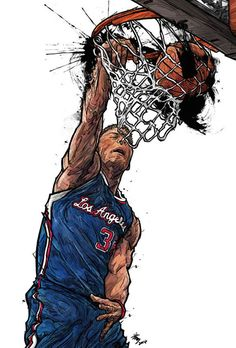 Blake Griffin 'Lightning x Thunder' Illustration by South Korean artist Min-suk Kim