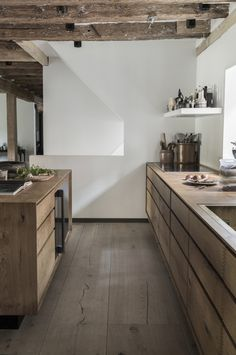Rene and Nadine Redzepi Kitchen in Copenhagen, Photo Courtesy of Dinesen