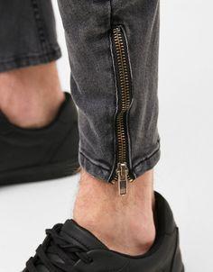 Jeans arc fit cremalleras - Jeans - Bershka España