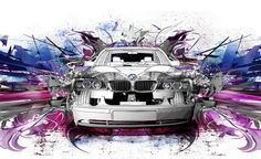 CAR ILLUSTRATION PITCH by Christos Magganas, via Behance