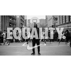 NIKE USES THE POWER OF SPORTS TO STAND UP FOR EQUALITY. #REPRE23NT