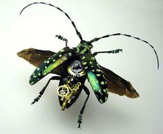 Insect Lab: Mike Libby's clockwork creepy crawlies - Telegraph