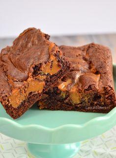 Karamel brownies - Laura's Bakery