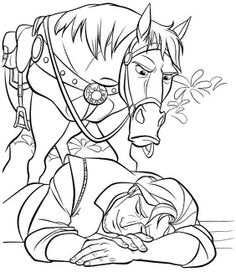 free printable coloring sheets disney princess tangled rapunzel for kids & boys
