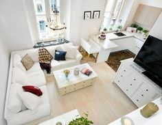 small apartment ideas - smart organisation