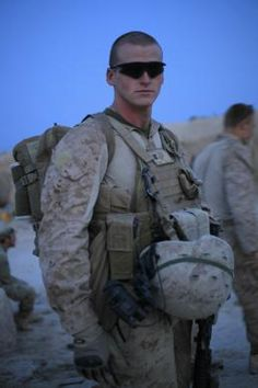 He was hit by enemy fire, kept firing, rushed to the aid of a Marine, denied himself meds in case any Marines got hurt worse than him, and now he's back in Afghanistan to help the Marines. God Bless Him and our troops Support Our Troops, Fight For Us, Fallen Heroes, Real Hero, Men In Uniform, Military Men, American Soldiers, American Pride, God Bless America