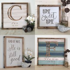 IG: @whiteaspenstudio  SHOP: http://ift.tt/2aWe1vx PROMO: INSTA20 // 20% off everything in the shop // good for 1 week!  Give Beautiful personalized gifts this year!! This husband and wife team makes rustic wood wall decor in Stephanie's great-grandfather's 100 year old farmhouse. They most enjoy creating unique pieces that bring warmth and beauty to a home!  #handmade #handmadewithlove #bestofhandmade #shopsmall #ifnot #homesweethone #makersgunnamake #handcraft #handmadelove #ilovehandmade…