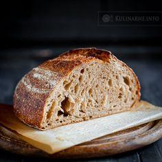 Chleb na zakwasie z sezamem – Przepisy kulinarne ze zdjęciami