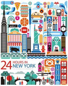 new york cartoon - Buscar con Google