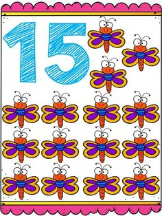 Números Del 1 Al 20 En 2021 Números Preescolar Numeros Para Niños Actividades Para Preescolar