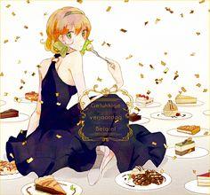 Enko (bbbbin), Axis Powers: Hetalia, Belgium, Cookies, Confetti, Ice Cream
