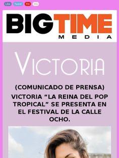 Victoria Cristina Victoria @Victoria lista para Calle Ocho @carnaval_miami en los escenarios de Pitbull Mr. 305 Inc Kiwanis #Kiwanis http://mad.ly/1ca494?pact=21028850897&fe=1#
